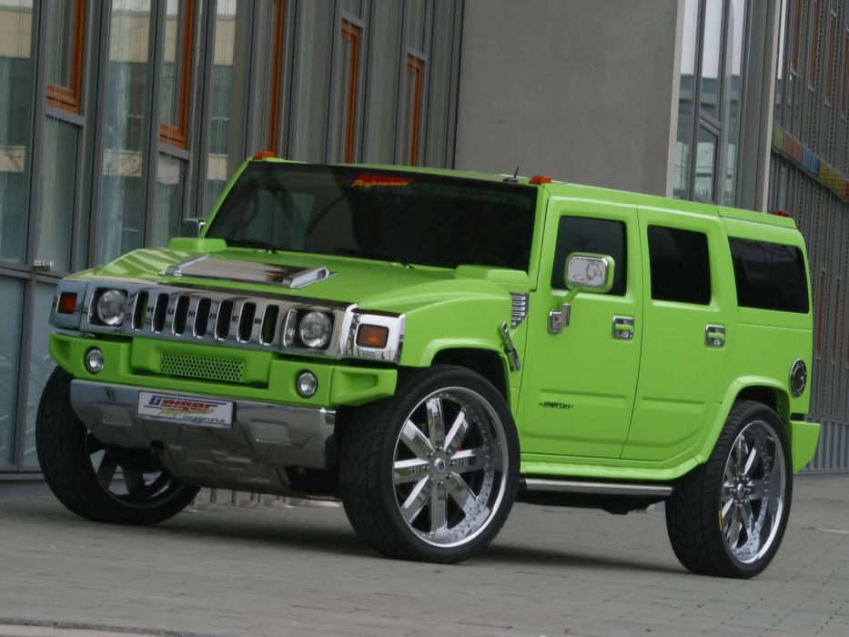 2005 Hummer H2 tuning 4x4 offroad suv wallpaper