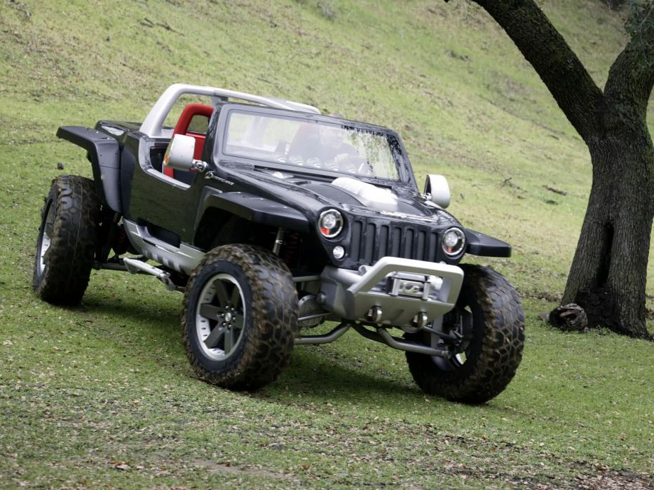 2005 Jeep Hurricane Concept offroad 4x4          g wallpaper