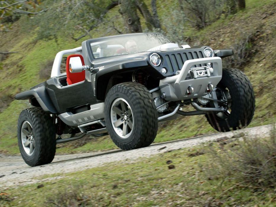 2005 Jeep Hurricane Concept offroad 4x4       g wallpaper