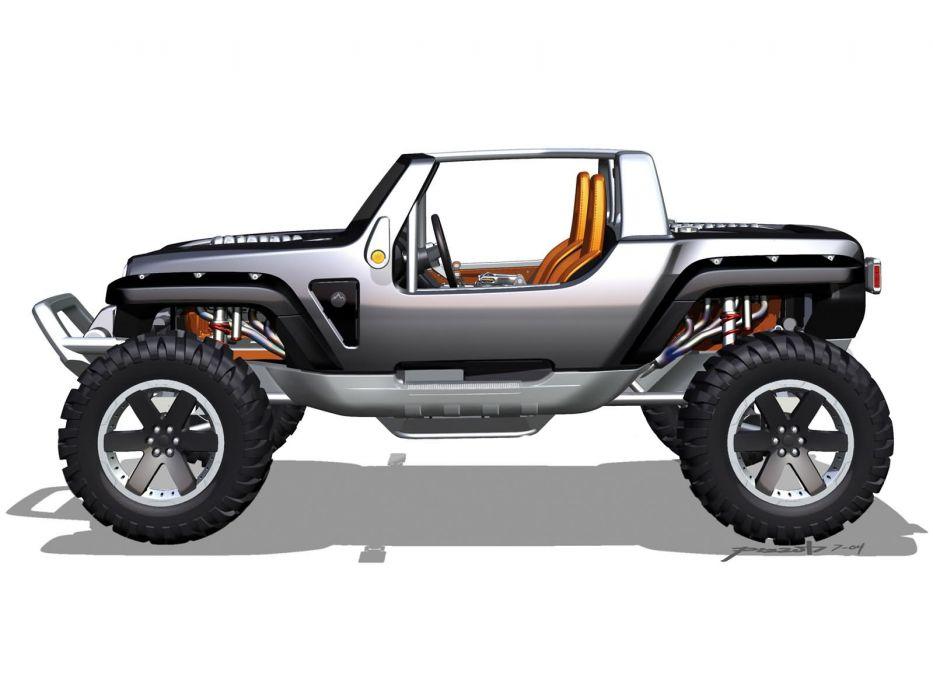 2005 Jeep Hurricane Concept Offroad 4x4 G Wallpaper 1600x1200
