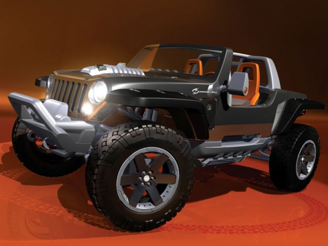 2005 Jeep Hurricane Concept offroad 4x4 wheel wheels f wallpaper