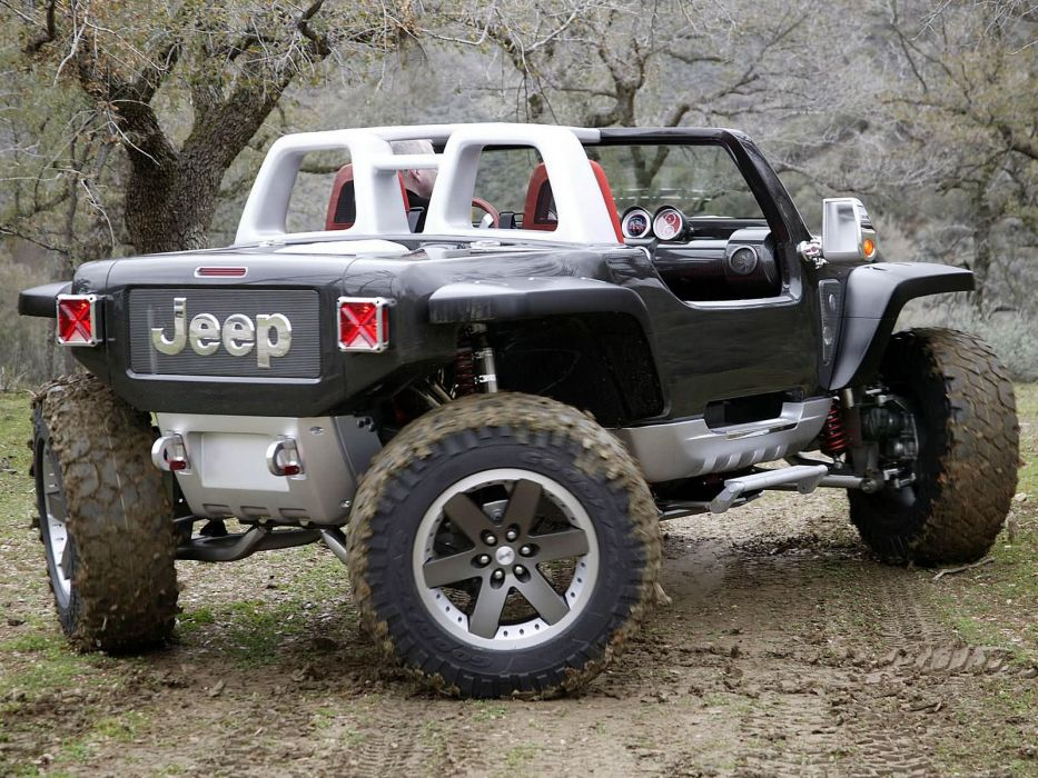 2005 Jeep Hurricane Concept offroad 4x4 wheel wheels             h wallpaper