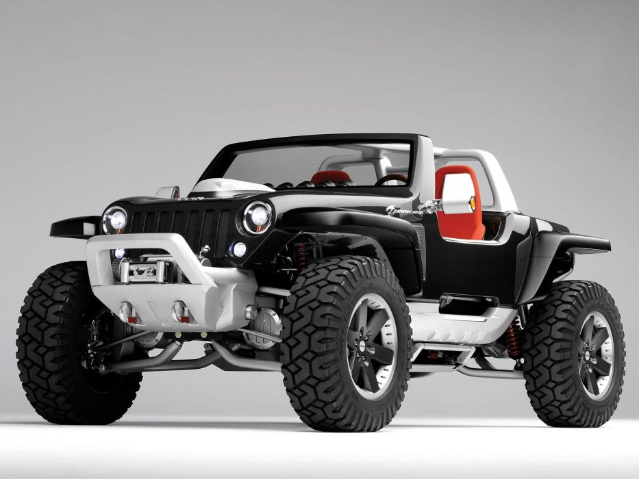 2005 Jeep Hurricane Concept Offroad 4x4 Wallpaper 1600x1200