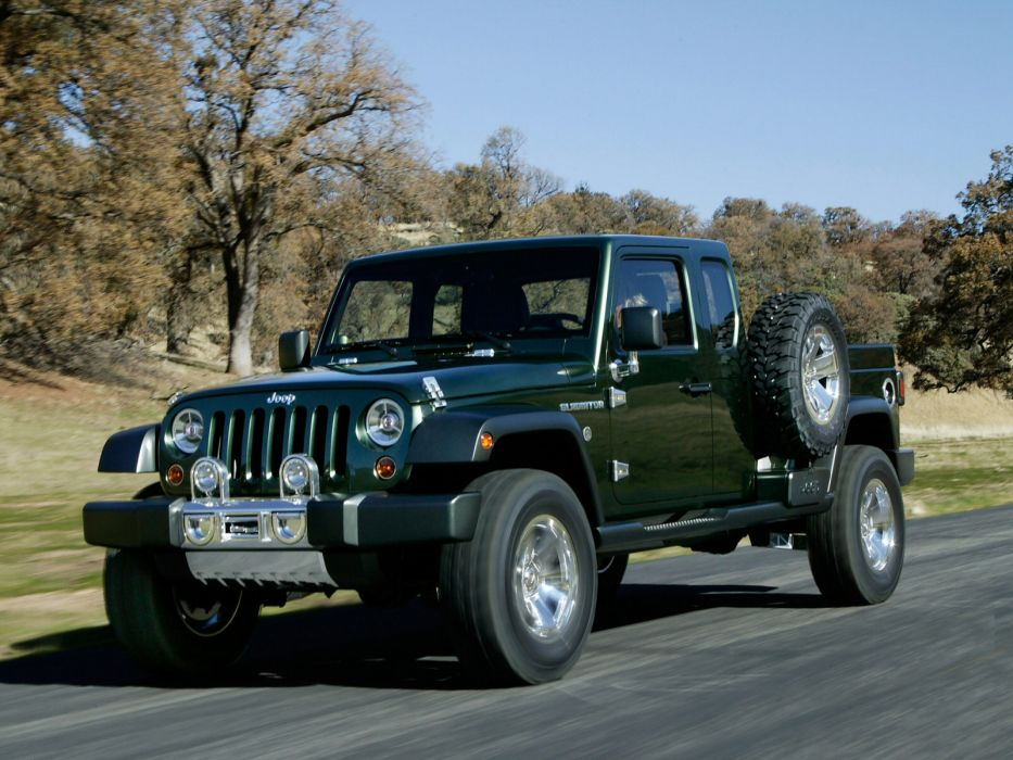 2006 Jeep Gladiator Concept offroad 4x4 truck    f wallpaper