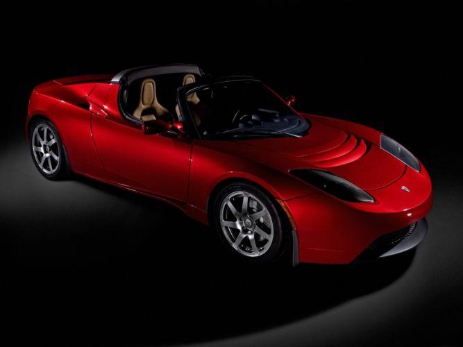 2007 Tesla Roadster supercar supercars g wallpaper