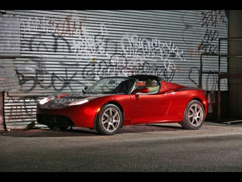 2008 Tesla Roadster supercar supercars     g wallpaper