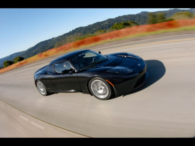 2008 Tesla Roadster supercar supercars g wallpaper