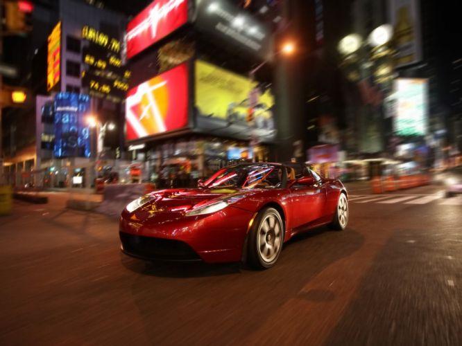 2008 Tesla Roadster supercar supercars hf wallpaper