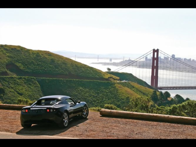 2008 Tesla Roadster supercar supercars wallpaper