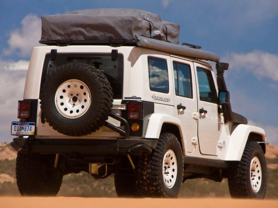2009 Jeep Wrangler Overland offroad 4x4    g wallpaper