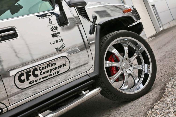 2010 Hummer H2 tuning 4x4 suv wheel wheels d wallpaper