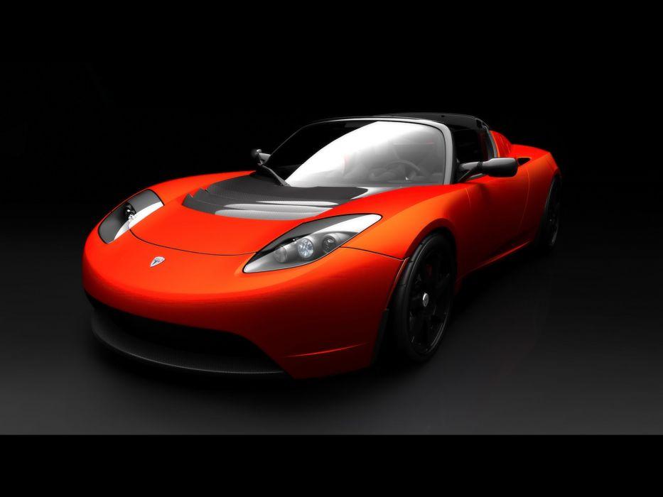 2010 Tesla Roadster Sport supercar supercars  f wallpaper