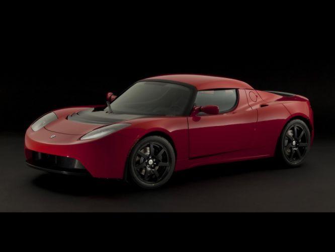 2010 Tesla Roadster Sport supercar supercars wallpaper