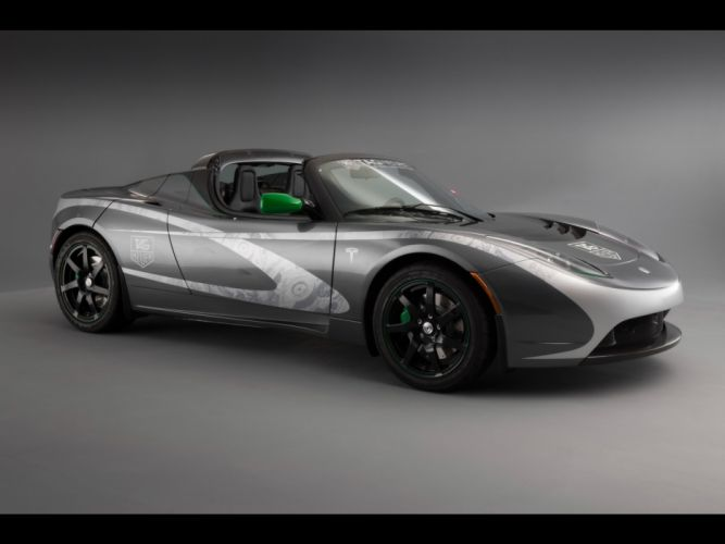 2010 Tesla Roadster supercar supercars g wallpaper