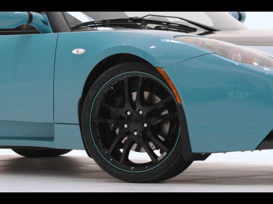 2011 Brabus Tesla Roadster Sport supercar supercars tuning wheel wheels wallpaper