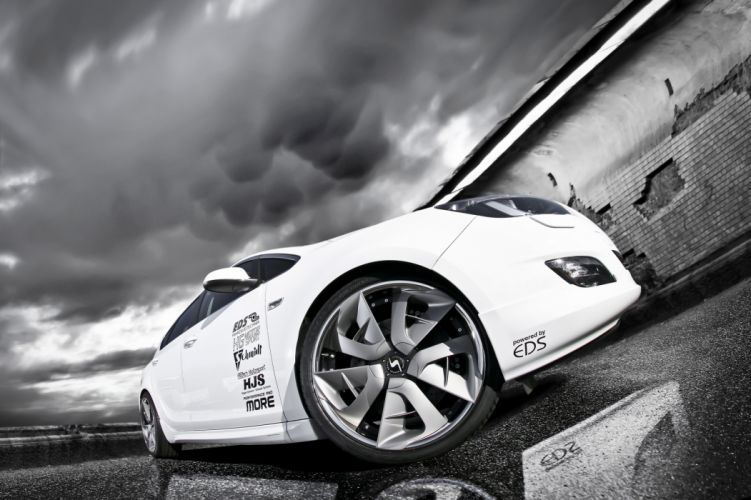 2011 Opel Astra tuning wheel wheels f wallpaper