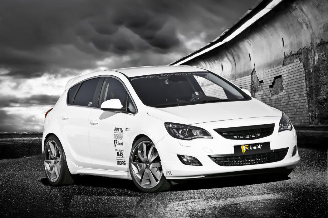 2011 Opel Astra tuning wallpaper