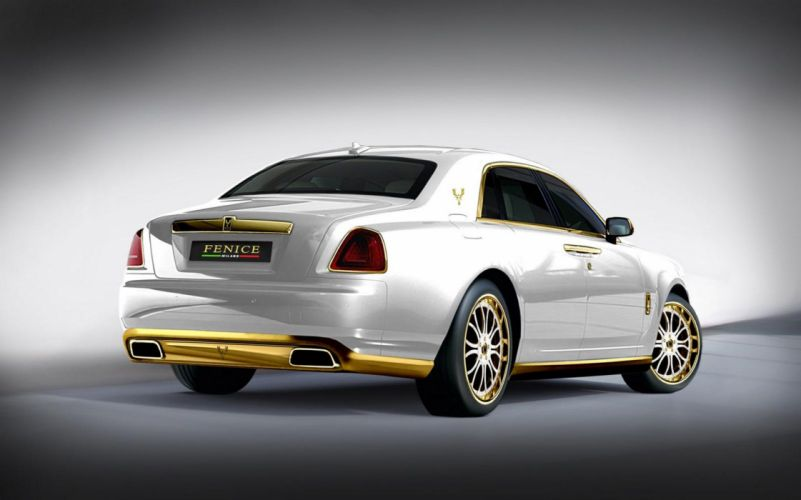 2011 Rolls Royce Ghost luxury tuning g wallpaper