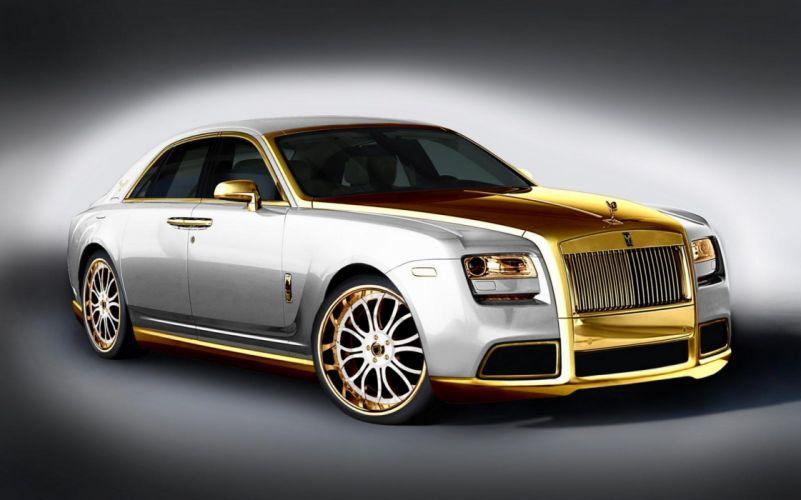 2011 Rolls Royce Ghost luxury tuning f wallpaper