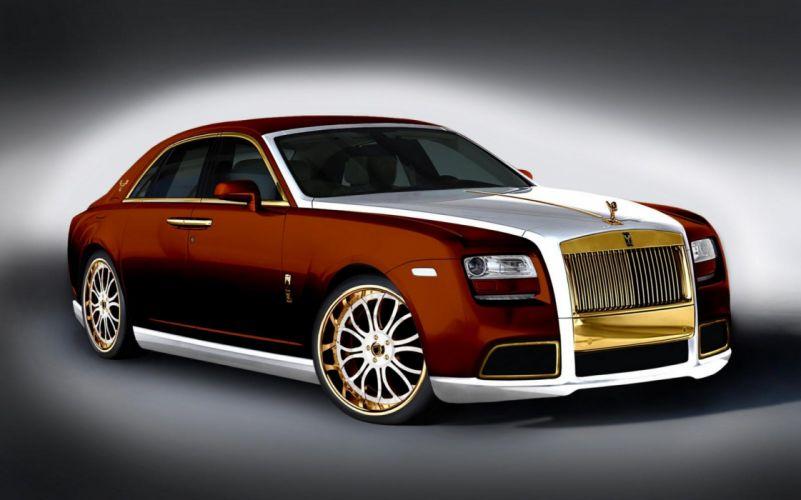 2011 Rolls Royce Ghost luxury tuning fd wallpaper