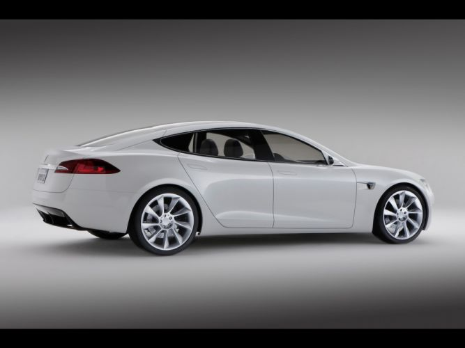 2011 Tesla Model-S electric supercar supercars g wallpaper