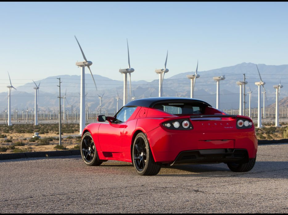 2011 Tesla Roadster 2-5 supercar supercars    f wallpaper