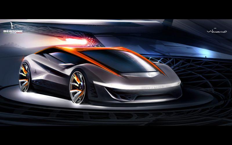 2012 Bertone Nuccio Concept supercar supercars gd wallpaper