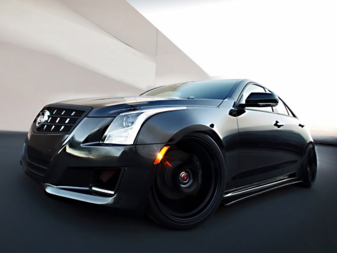 2012 Cadillac ATS D3 tuning muscle luxury g wallpaper