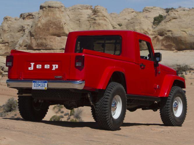 2012 Jeep J-12 Concept 4x4 offroad truck f wallpaper
