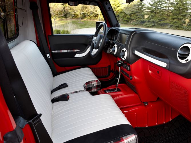 2012 Jeep J-12 Concept 4x4 offroad truck interior f wallpaper