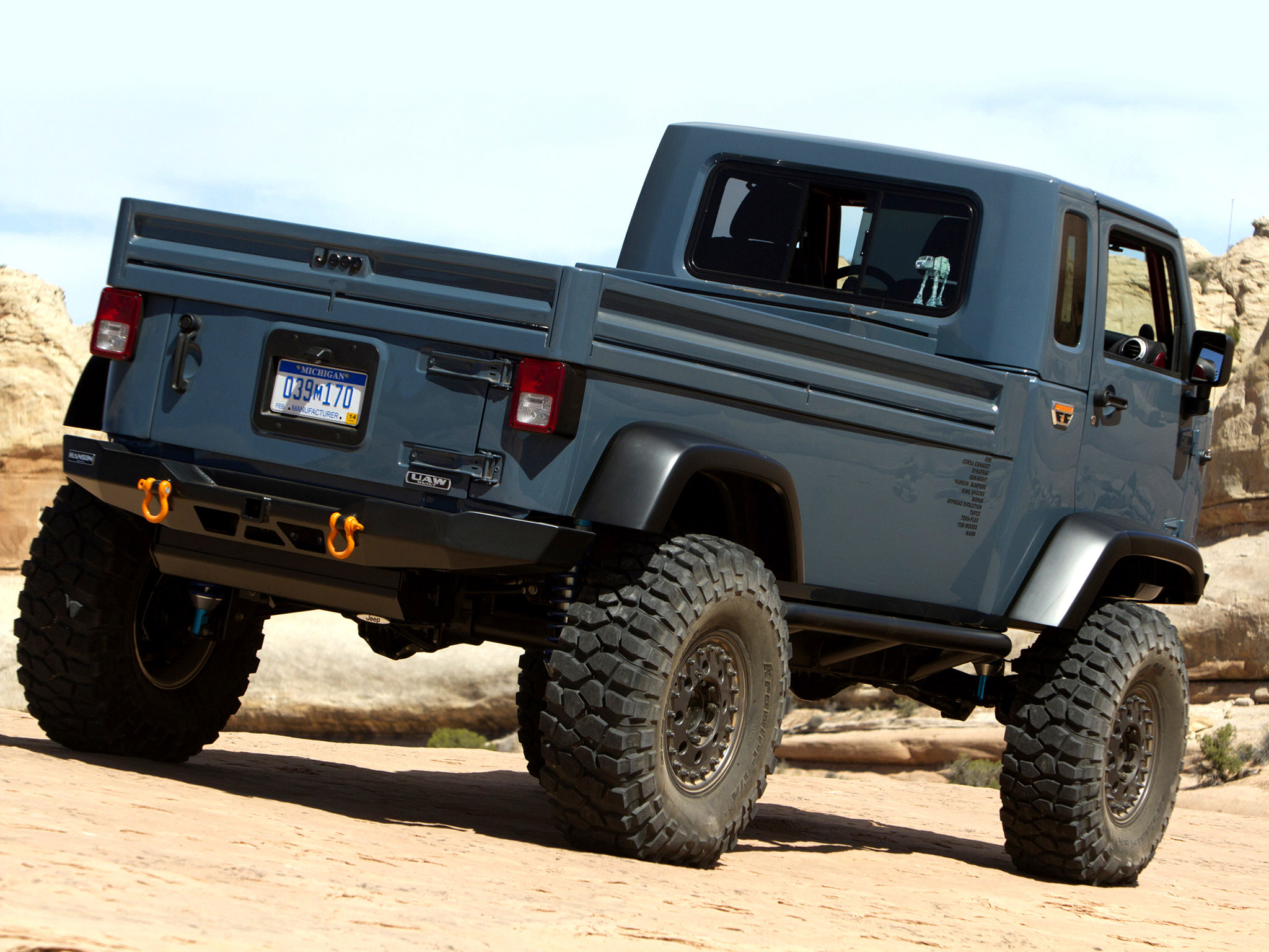 Jeep mighty fc concept offroad truck d wallpaper