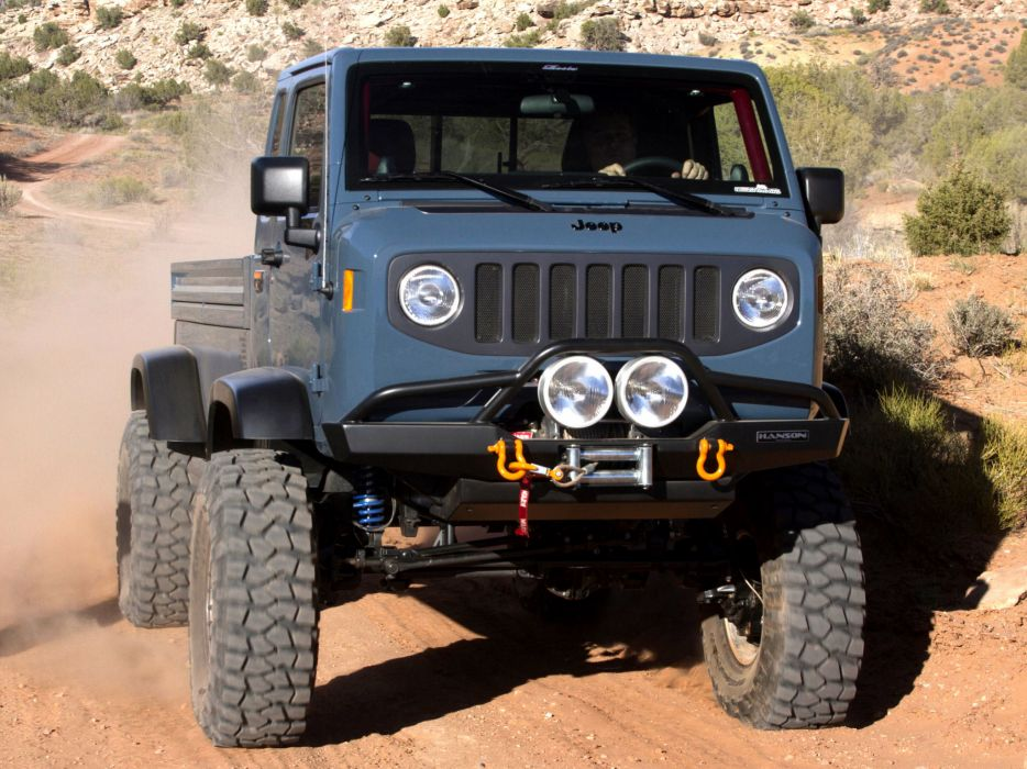 2012 Jeep Mighty Fc Concept Offroad 4x4 Truck D Wallpaper