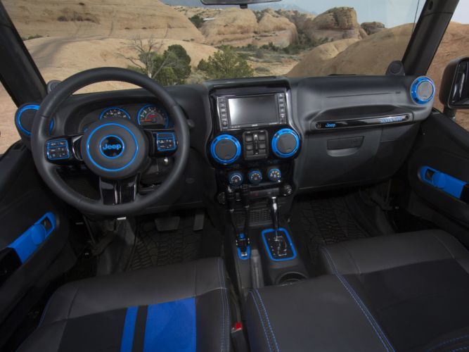 2012 Jeep Wrangler Apache offroad off 4x4 interior f wallpaper
