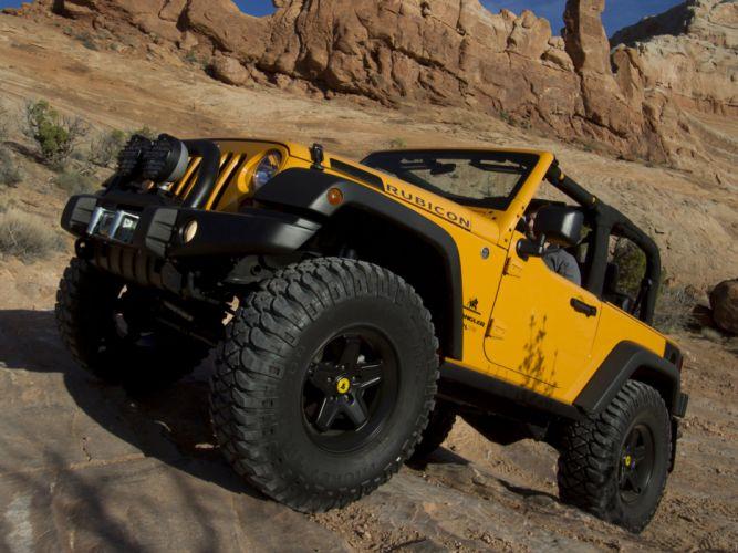 2012 Jeep Wrangler Traildozer Concept offroad 4x4 wheel wheels d wallpaper