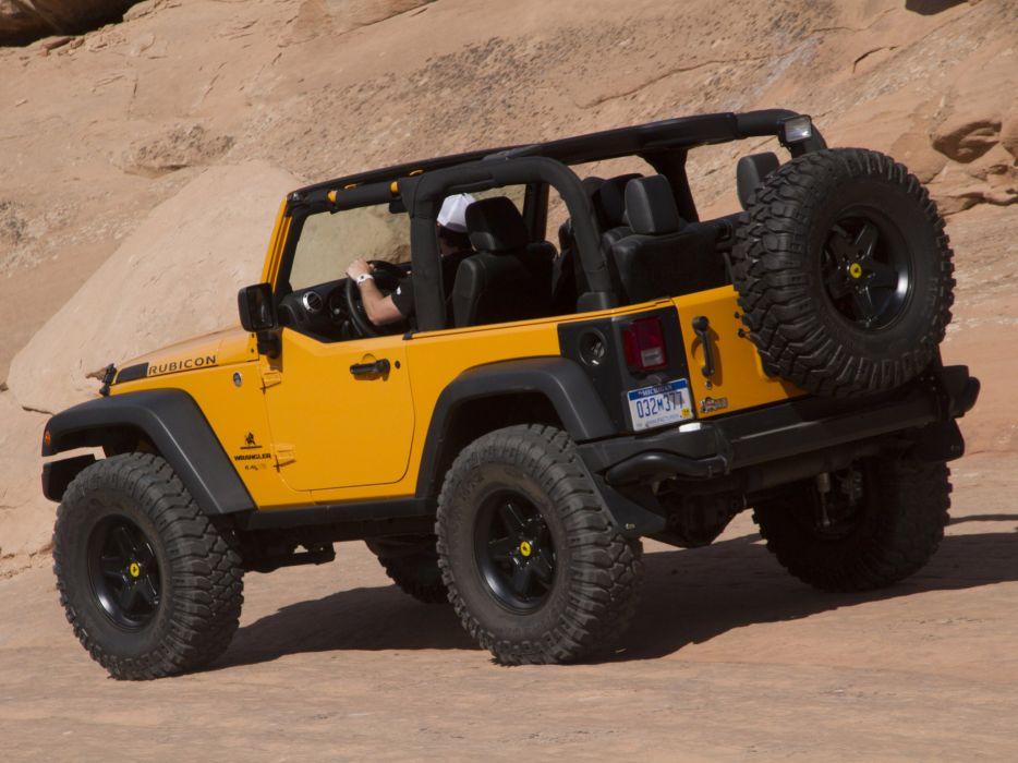 2012 Jeep Wrangler Traildozer Concept offroad 4x4 wallpaper