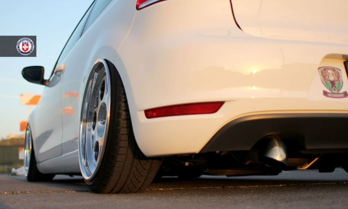2012 Volkswagen Golf TDi Mk6 tuning wheel wheels wallpaper