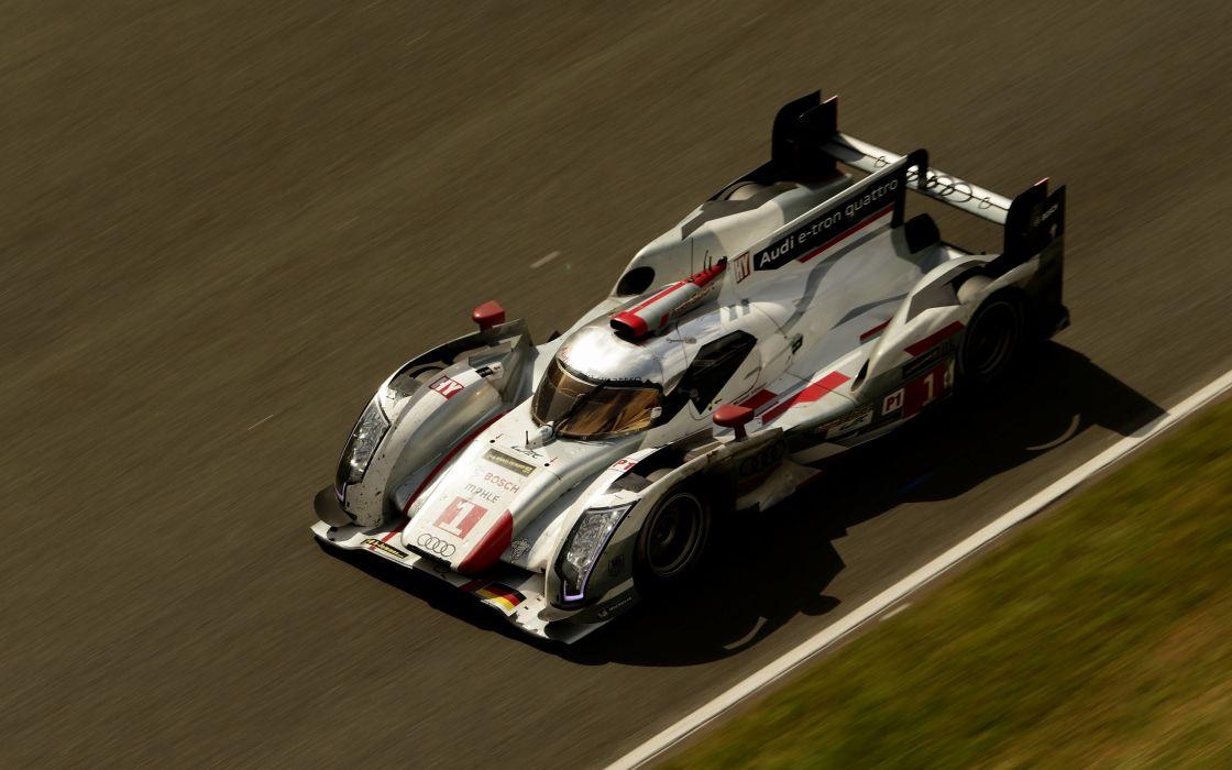 2013 Audi R18 e-tron quattro race racing le-mans    d wallpaper