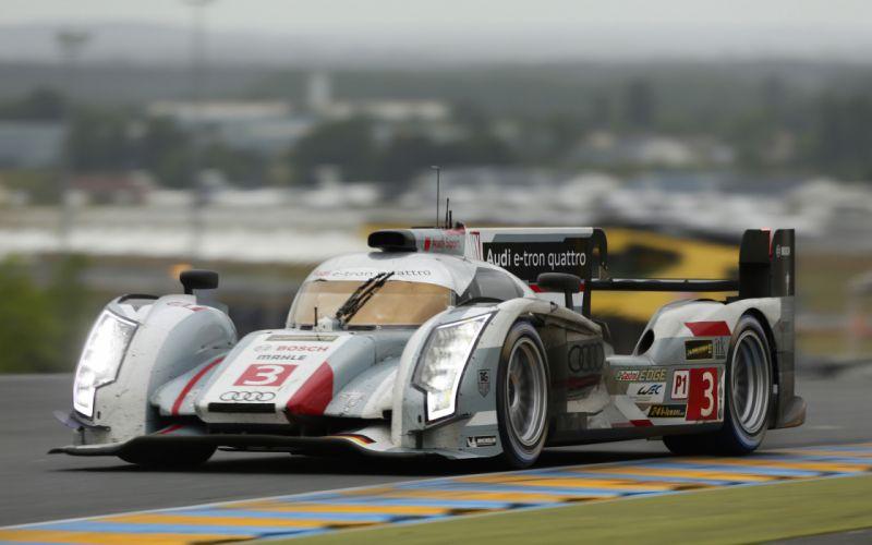 2013 Audi R18 e-tron quattro race racing le-mans h wallpaper