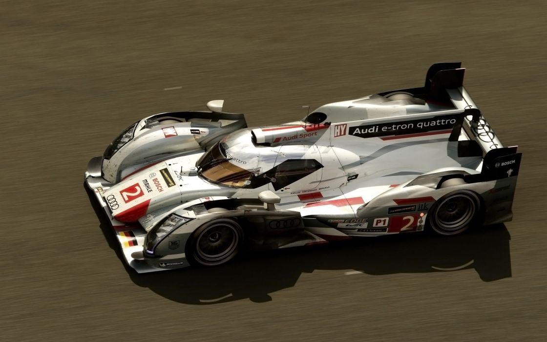 2013 Audi R18 e-tron quattro race racing le-mans  fc wallpaper
