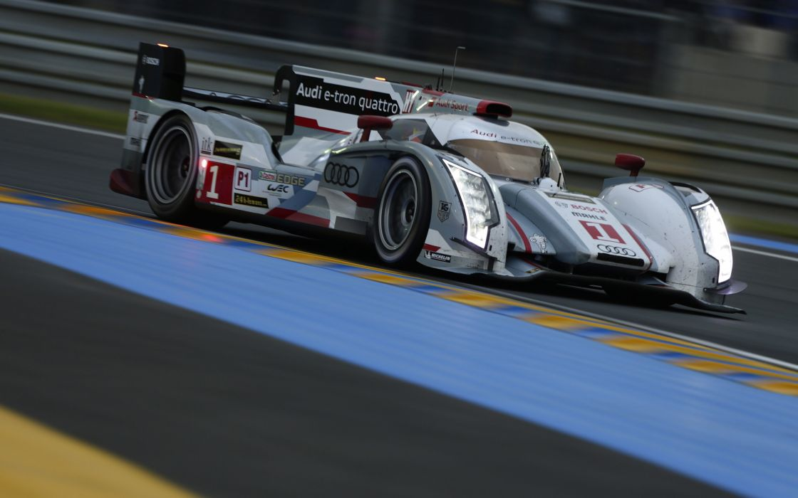 2013 Audi R18 e-tron quattro race racing le-mans f wallpaper