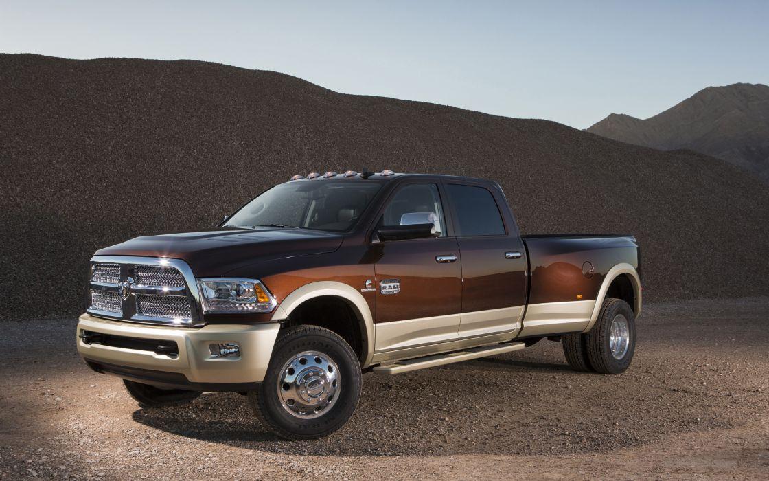 2013 Dodge Ram 3500 4x4 truck               g wallpaper