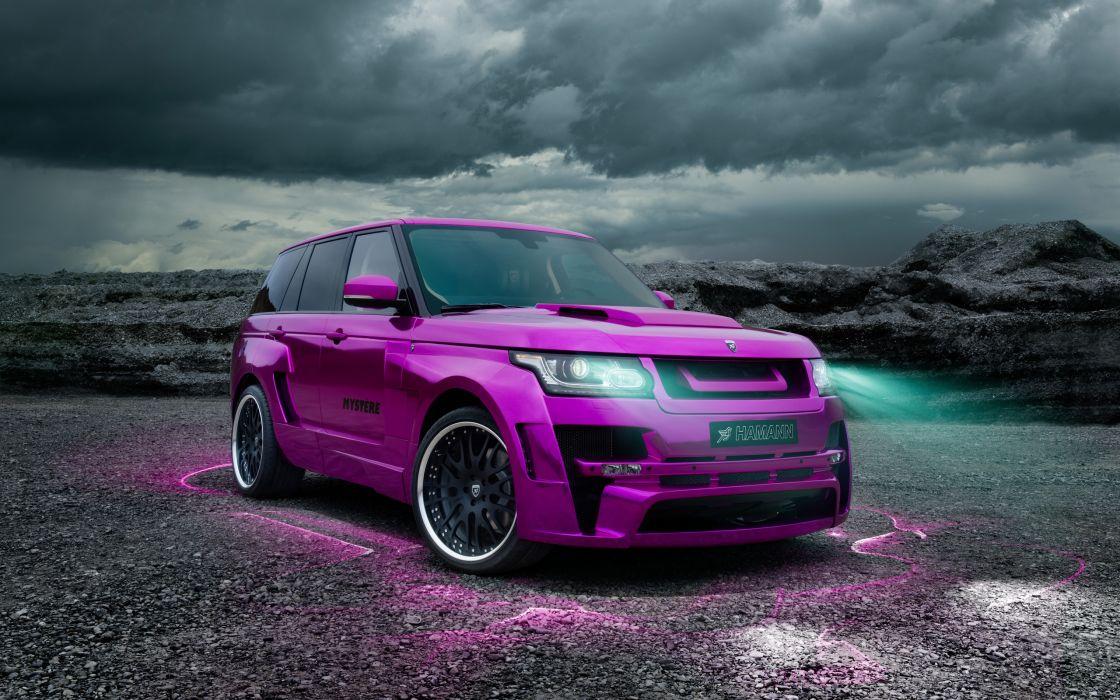 2013 Hamann Range Rover Mystere tuning suv luxury    f wallpaper
