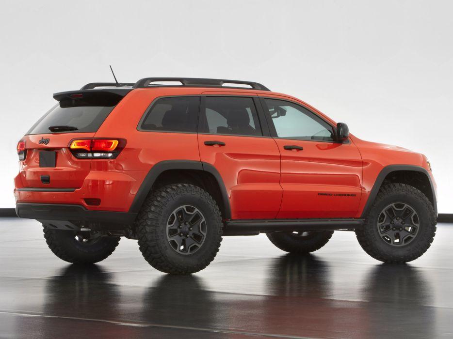 2013 Jeep Grand Cherokee Trailhawk offroad 4x4 concept   d wallpaper