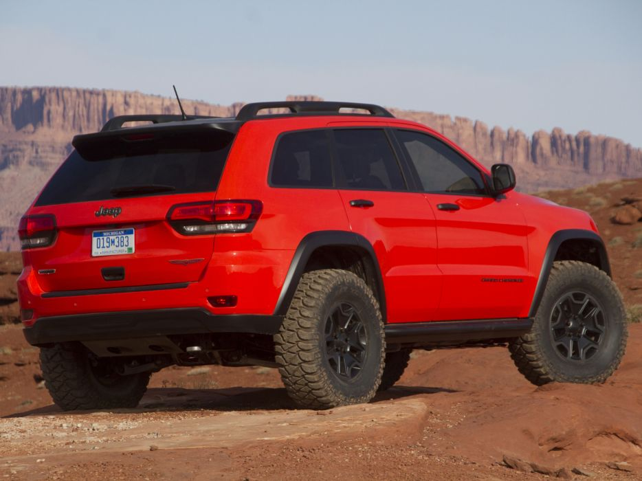 2013 Jeep Grand Cherokee Trailhawk offroad 4x4 concept d wallpaper