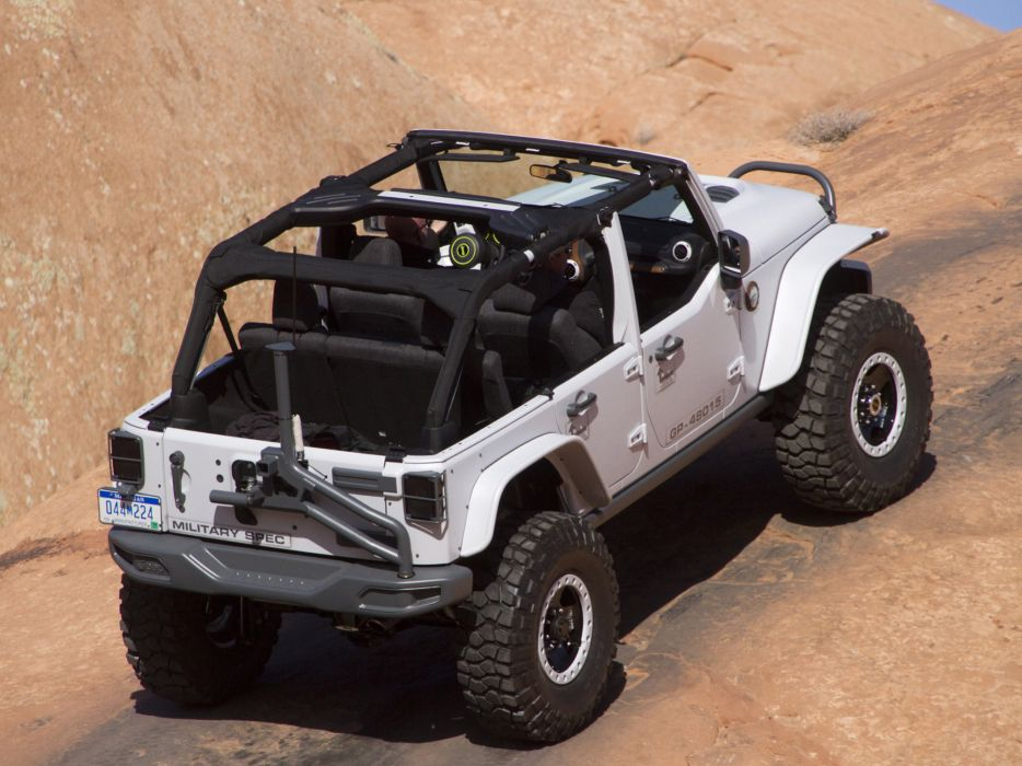 2013 Jeep Wrangler Mopar Recon Concept offroad 4x4     f wallpaper