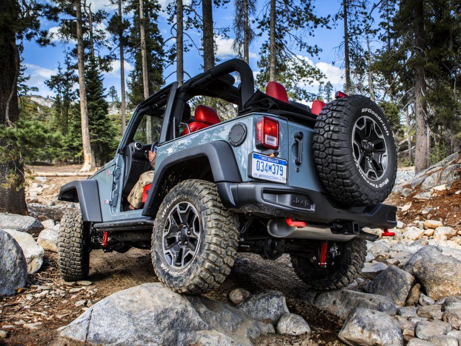 2013 Jeep Wrangler Rubicon 10th 4x4 offroad        d wallpaper