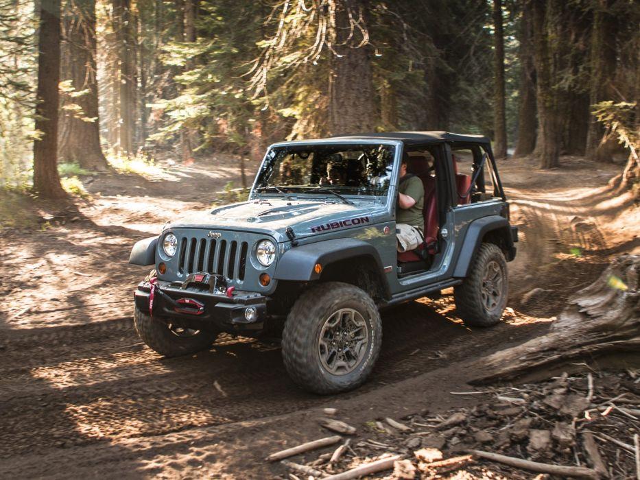 2013 Jeep Wrangler Rubicon 10th 4x4 offroad  s wallpaper