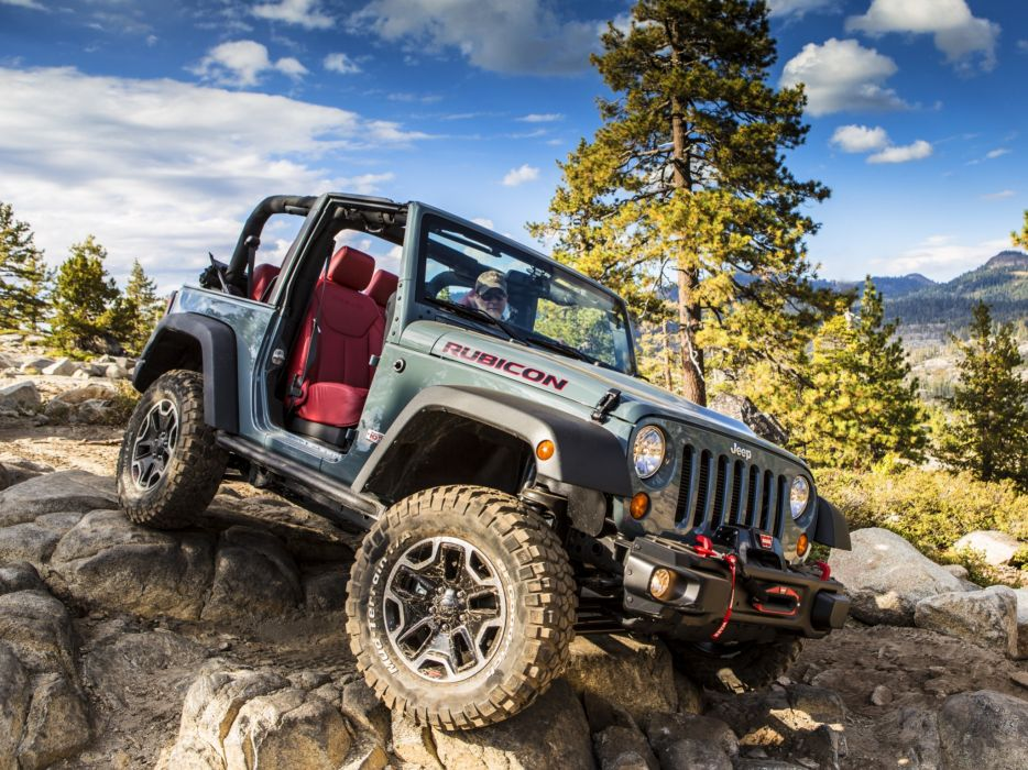 2013 Jeep Wrangler Rubicon 10th 4x4 offroad wallpaper