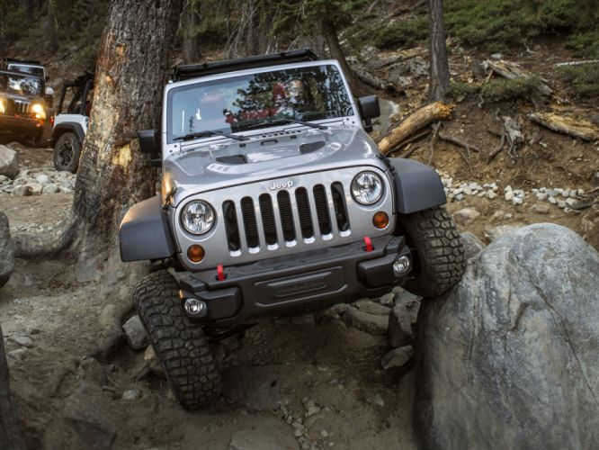 2013 Jeep Wrangler Unlimited Rubicon 10th offroad 4x4 f wallpaper