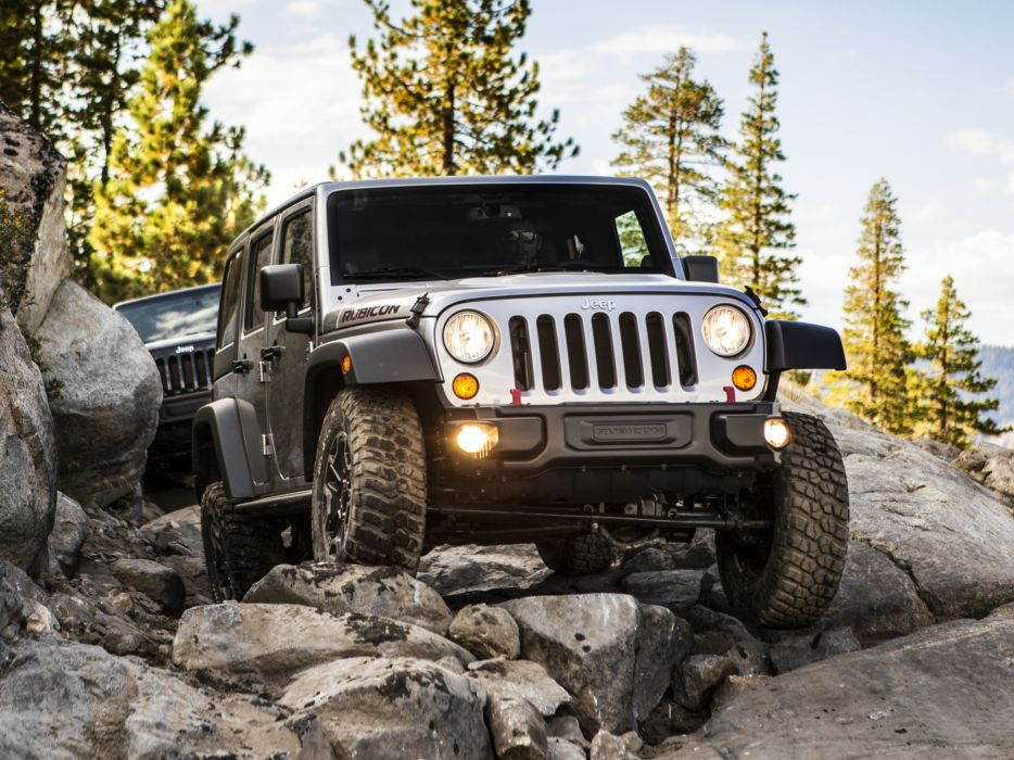 2013 Jeep Wrangler Unlimited Rubicon 10th offroad 4x4 d wallpaper